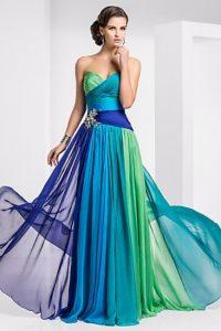 модные шифоновые платья 2017 фото (13)