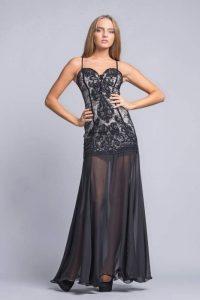 модные шифоновые платья 2017 фото (16)