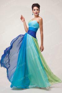 модные шифоновые платья 2017 фото (24)