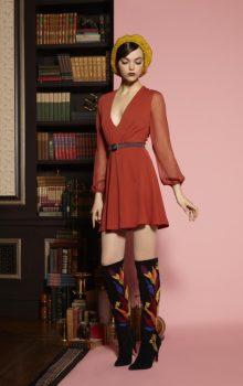 модные шифоновые платья 2017 фото (29)