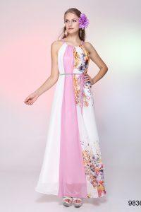 модные шифоновые платья 2017 фото (34)