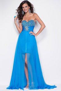 модные шифоновые платья 2017 фото (36)