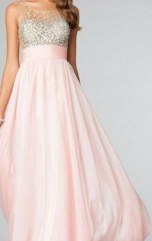 модные шифоновые платья 2017 фото (5)