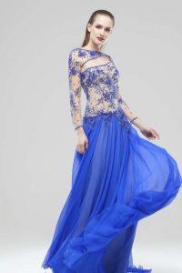 модные шифоновые платья 2017 фото (52)