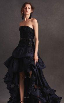 модные шифоновые платья 2017 фото (53)