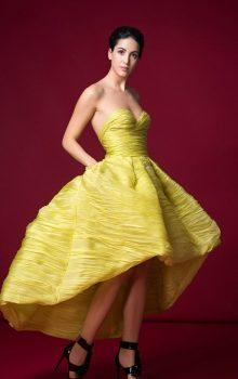 модные шифоновые платья 2017 фото (55)
