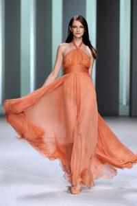 модные шифоновые платья 2017 фото (58)