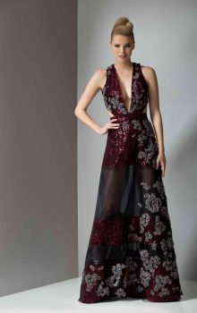 модные шифоновые платья 2017 фото (64)