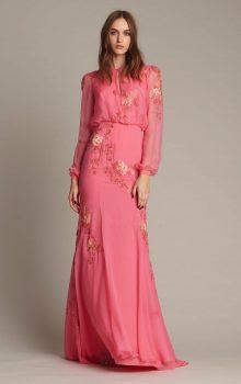 модные шифоновые платья 2017 фото (65)