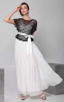 модные шифоновые платья 2017 фото (73)