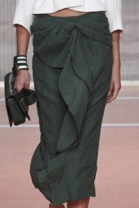 модные юбки сложного кроя 2017 фото (11)