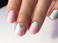 Дизайн коротких ногтей 2018 (130 интересных новых фото маникюра)