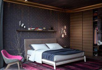 Модный дизайн спален 2017 фото (3)