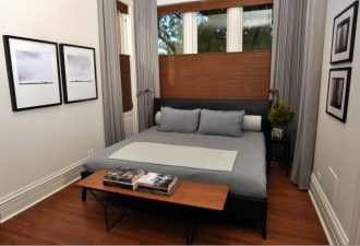Нюансы для маленькой спальни 2017 фото (10)