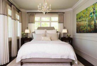 Нюансы для маленькой спальни 2017 фото (5)
