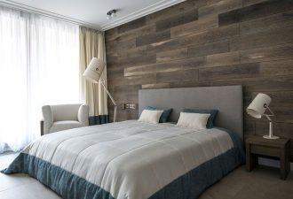 Отделка стен в спальне 2017 фото (5)