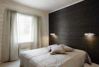 Отделка стен в спальне 2017 фото (6)