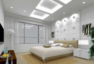 Потолок в спальне фото (10)