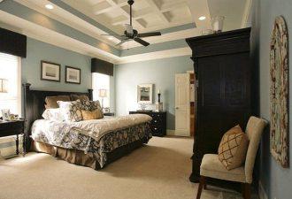 Потолок в спальне фото (11)