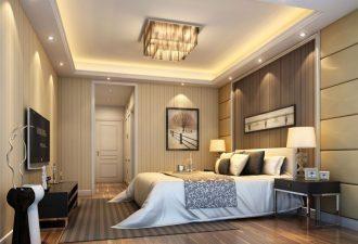 Потолок в спальне фото (12)