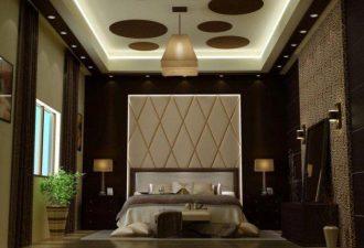 Потолок в спальне фото (3)