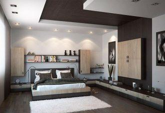 Потолок в спальне фото (4)