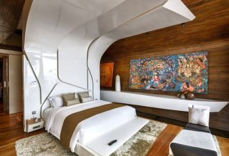 Потолок в спальне фото (8)