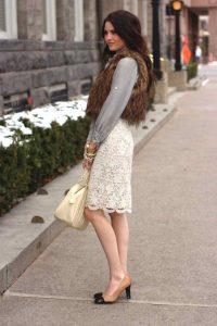 С чем носить гипюровую юбку фото (43)