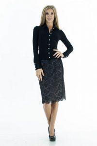 С чем носить гипюровую юбку фото (48)