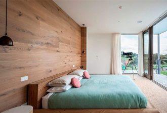 Скандинавский стиль в спальне 2017 фото (12)