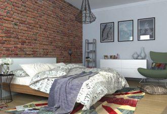 Скандинавский стиль в спальне 2017 фото (9)
