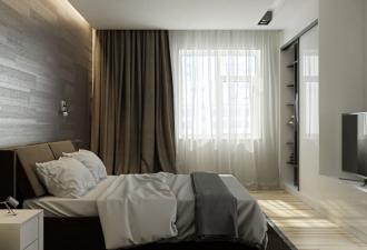 Стиль минимализм в спальне 2017 фото (1)