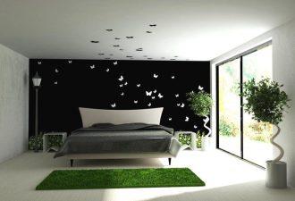Стиль минимализм в спальне 2017 фото (10)