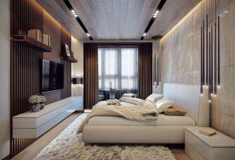 Стиль минимализм в спальне 2017 фото (11)