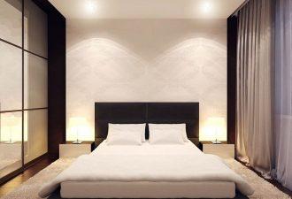 Стиль минимализм в спальне 2017 фото (12)