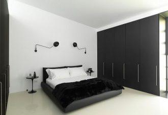 Стиль минимализм в спальне 2017 фото (2)