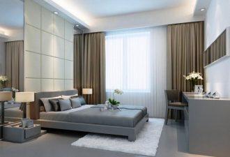 Стиль минимализм в спальне 2017 фото (6)