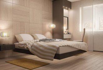 Стиль минимализм в спальне 2017 фото (9)
