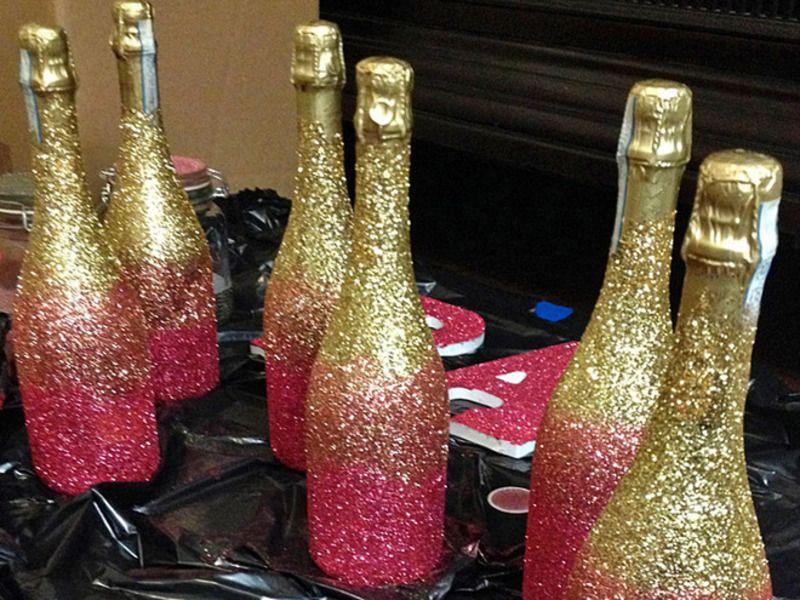 Золотая бутылка