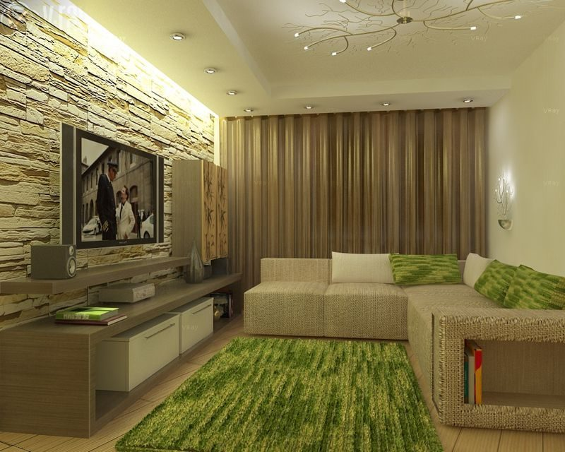 Дизайн зала в «хрущевке»: расширяем пространство (160 фото)