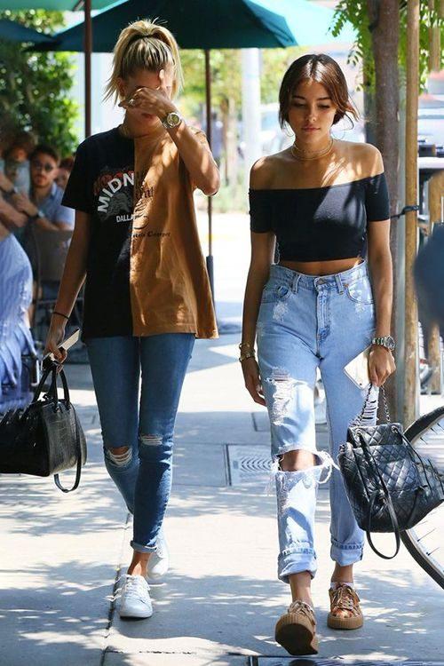 Стильные женские джинсы 2018 года: 147 фото, модные тенденции