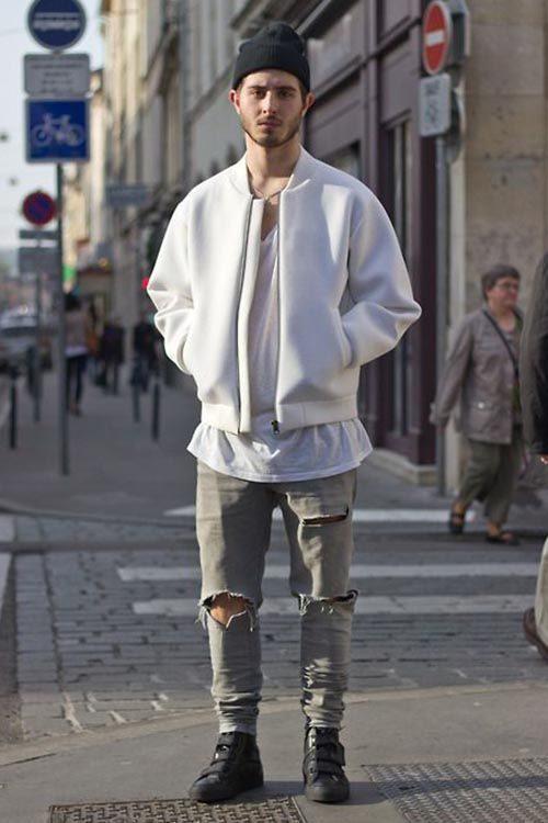 Модные мужские джинсы 2017-2018: 110 фото, модные тенденции