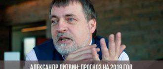Александр Литвин: прогноз на 2019 год