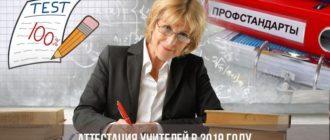 Аттестация учителей в [year] году