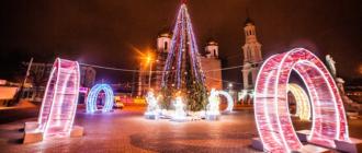 Новый 2019 год в Ростове-на-Дону