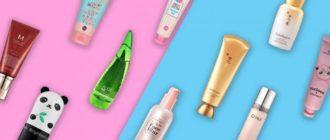 Корейская косметика – нежный уход за кожей лица