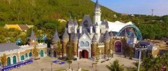 Парк развлечений «Винперл» в Нячанге на острове Хон Че