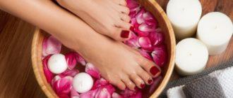 Педикюр и косметический уход за ногами