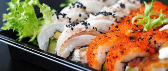 Где можно заказать суши и роллы в Тюмени
