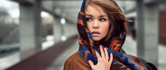 Модные модели женских шарфов